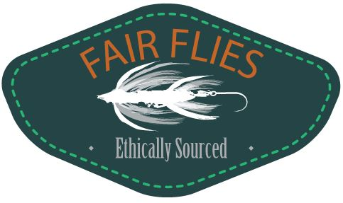 fair flies white background